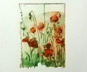 Stampa la terra i fiori